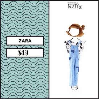 Zahra Girl Kids Jeans Romper By Shawl Publika Kidz