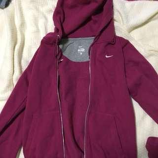 Nike Pink Hoody/ Jacket