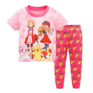 Little Kid Pajama  Design: as attach photo  Size: 2t, 3t, 4t, 5t, 6t, 7t