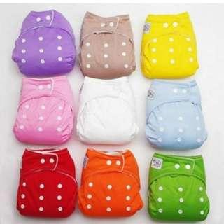 6 Cloth Diaper