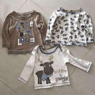 George long sleeves baby shirts