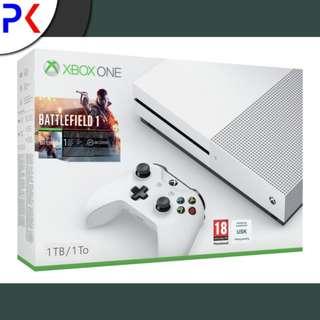 Xbox One S 1TB (ASIA) Battlefield 1 Bundle