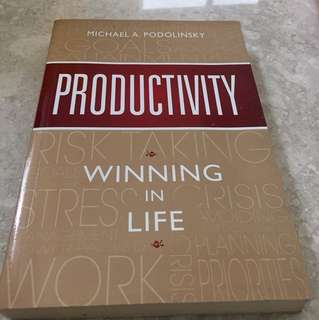 Productivity winning in life