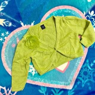 🚚 Baby gap 女童厚針織長袖小外套