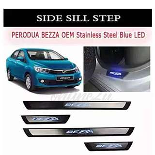 Perodua Bezza Side Steel Step W/Led