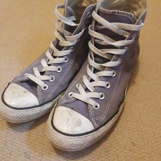 Genuine Converse Purple