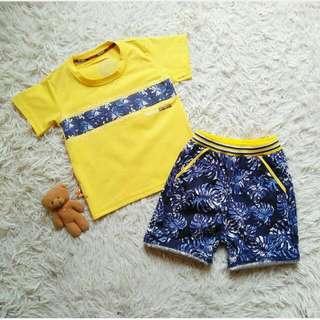 Baju Anak set GG Hawai Clasic Design