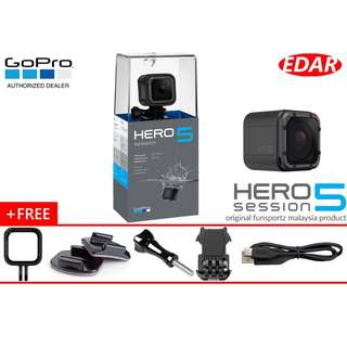 GOPRO HERO 5 SESSION BUY 1 FREE 5 !!! ( FUNSPORTZ MALAYSIA WARRANTY )