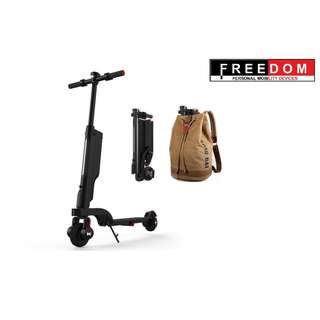 E - Scooter - Back Pack - FREEDOM PMD