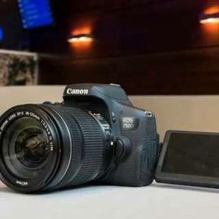 Kredit Canon eos 750D kit 18-135mm STM WIFI - Cicilan tanpa CC
