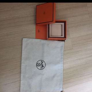 Authentic Hermes watch box