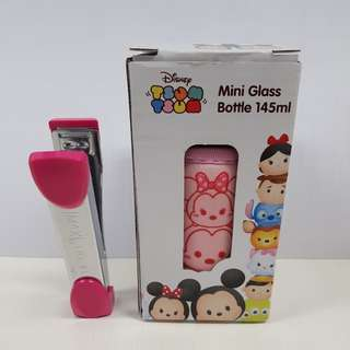 Tsum tsum Mini Glass Bottle