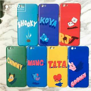BTS BT21 Phone Casing