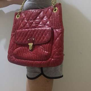 Coach Red full leather