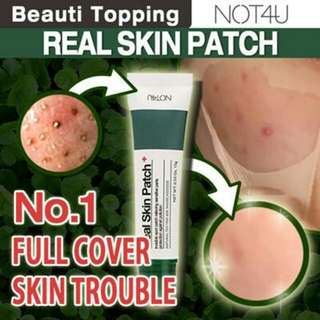Real skin patch from Korea (good for sensitive skin)