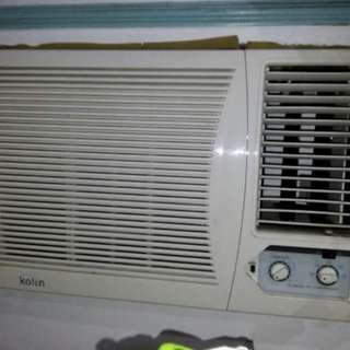 Kolin 2.5hp window type aircon