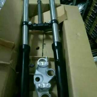 FZ16 front shock fork set local