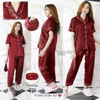 MK-0013 silk pajamas import +15