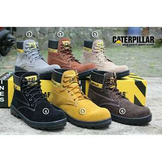 Caterpillar safety paling keren