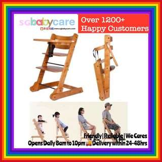 FREE DELIVERY Wooden Highchair