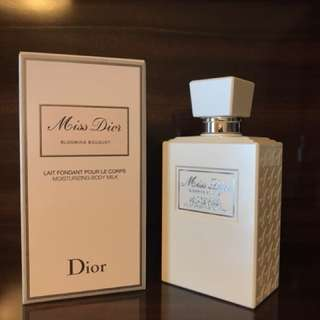 Miss Dior body milk