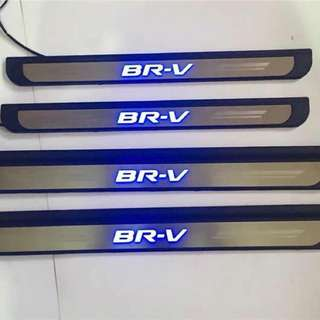 Honda BR-V Side Steel Step W/Led