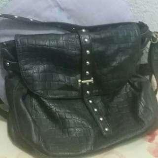 Leather Balck Bag