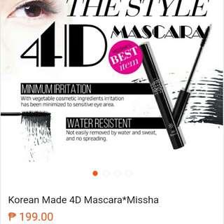 Korean Mascara 4D