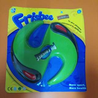 green color frisbee