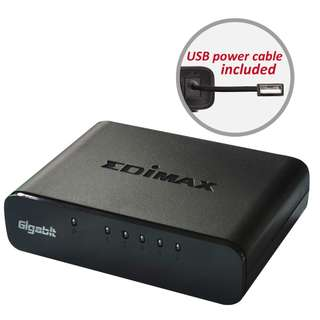 Edimax ES-5500G v3  Gigabit Ethernet 5 Ports Desktop Switch