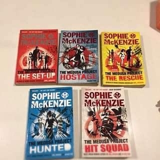 Young Adults books - The Medusa Project series - by Sophie McKenzie