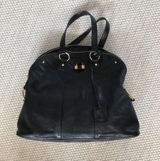 YSL large muse, buffalo leather chic 70s style