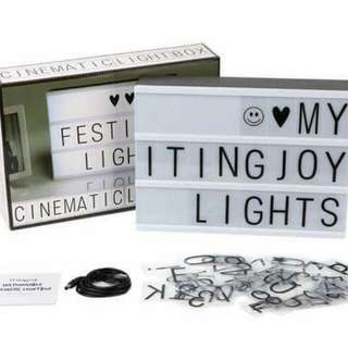 Cinematic Light Box