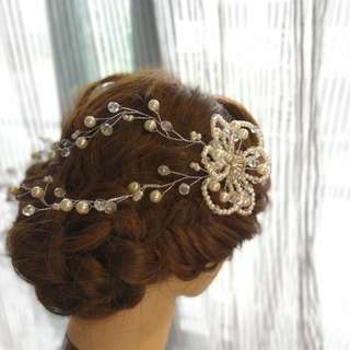 Bridal hair accessory. Brand new