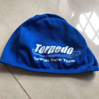Torpedo swim team Swimming cap