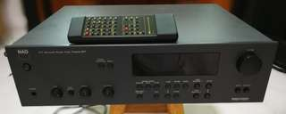 NAD AV Receiver pre amp with remote control