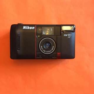 Nikon TW20 AF 35mm film camera point and shoot