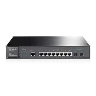 JetStream 8-Port Gigabit L2 Managed Switch with 2 SFP Slots TL-SG3210