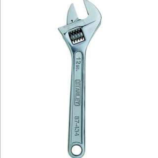 Stanley Adjustable Wrench- 12 inch