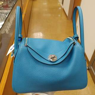 Hermes lindy 26 turquoise