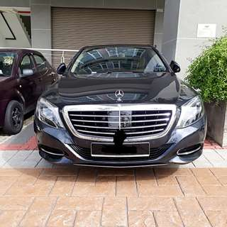 Mercedes S400 for rent