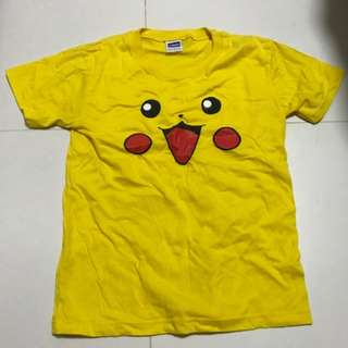 Preowned Boy's Clothings, T-shirt, Tee, Pikachu, Pokemon, Size M, 8-10 years, Top, 100% cotton, Disney, Minion, Free normal mail