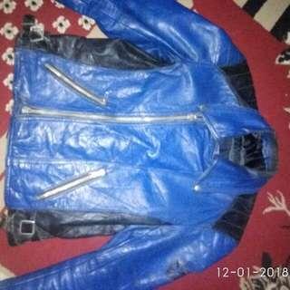 Jaket kulit Ramones