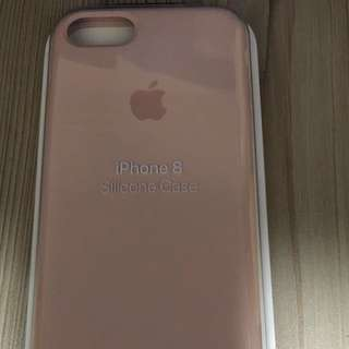 原廠iphone7/8 silicone case(粉)