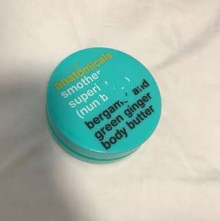 anatomicals smother superior bergamot and green ginger body butter