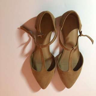 F21 Suede Flats