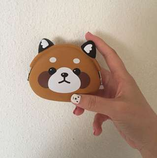 Red panda pouch