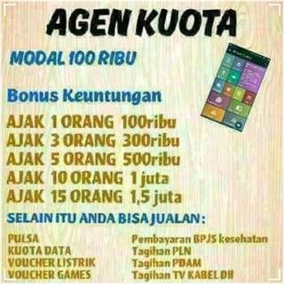 Agen Kuota & Pulsa (Promo!!!)