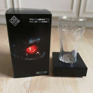 Coca-Cola Contour Glass (Limited Terminator Edition) Year 2009
