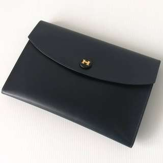 Authentic Hermes Clutch Bag